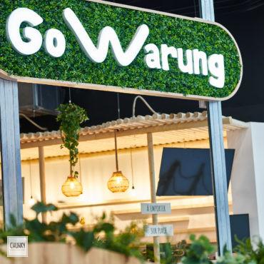 Focus enseigne sur-mesure pour le projet d'aménagement d'un restaurant indonésien à Saint-Pierre d'Irube, dans la galerie du centre commercial Ametzondo