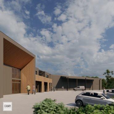 Création de nouveaux locaux à Villefranque
