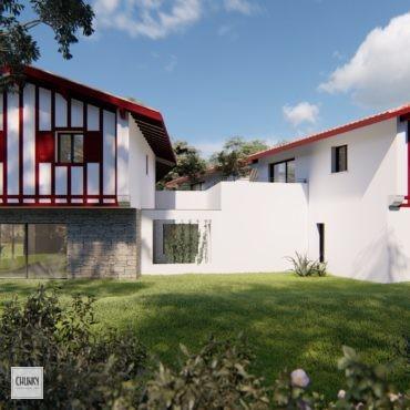 Création d'un collectif de six appartements au Pays Basque