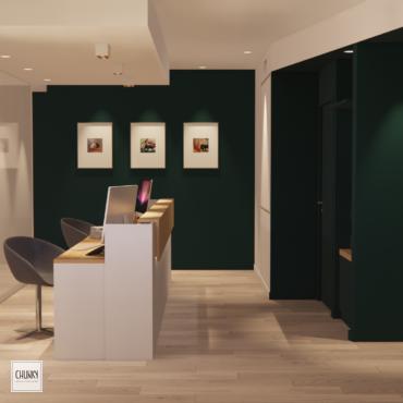 Aménagement de bureaux à Lahonce au Pays Basque 1